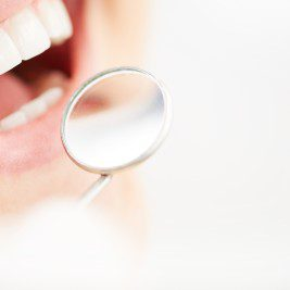 A simple examination can easily identify the onset of gum disease.