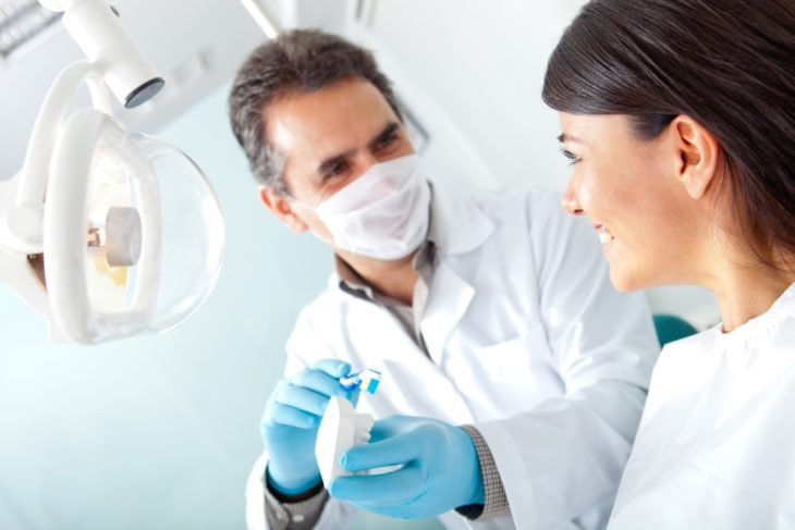 Talk to your dentist about dental crowns.
