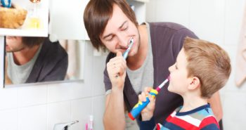 You can clean your teeth more thoroughly with an electric toothbrush.