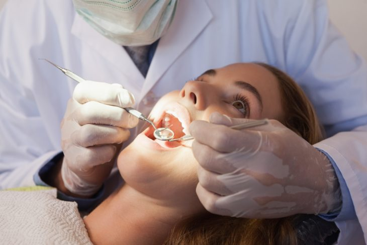 You dentist might see more than just how well you've been cleaning your teeth.