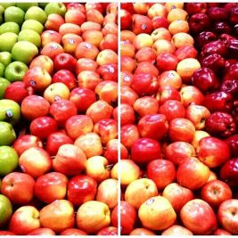 Apples have been found to help improve the whiteness of your teeth.