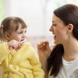 Discover the link between oral health and motherhood today.