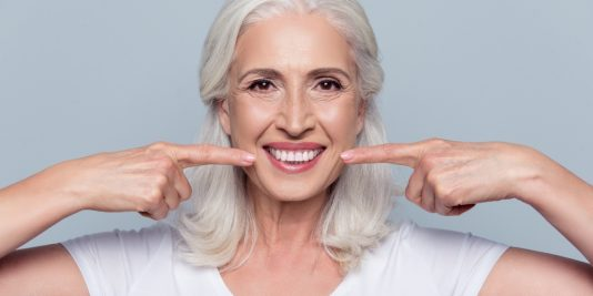 Dentures can replace multiple missing teeth.