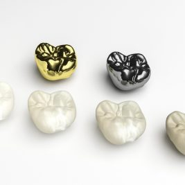 Ceramic, porcelain, metal - what's the difference between these dental crown materials?