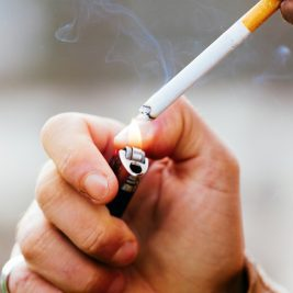 Here's another reason why you should quit smoking: It reduces your risk of many oral cancers.