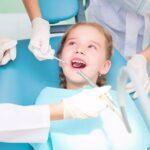 Fluoride can help teeth develop properly.